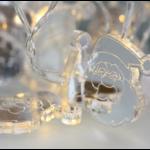 Valguskett 'Jõuluvana'' 10 LED lampi