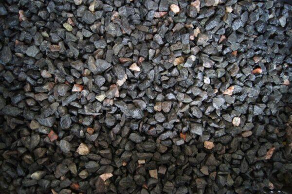 Dekoratiivkillustik Must-kirju graniit 6/12 8kg