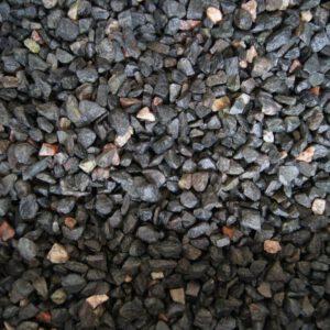 Dekoratiivkillustik Must-kirju graniit 12/18 1000kg bigbag