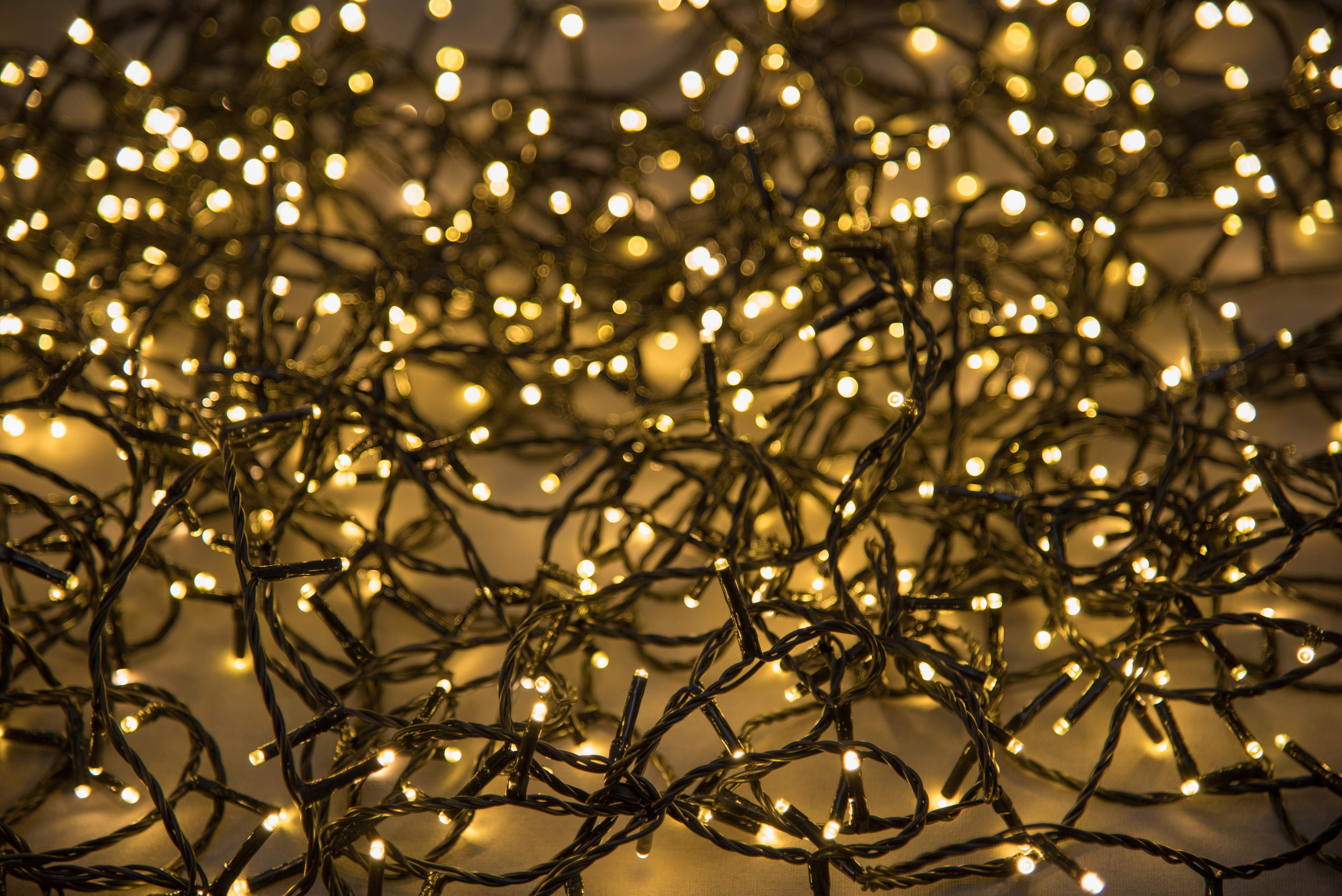Valguskett 200 LED lampi