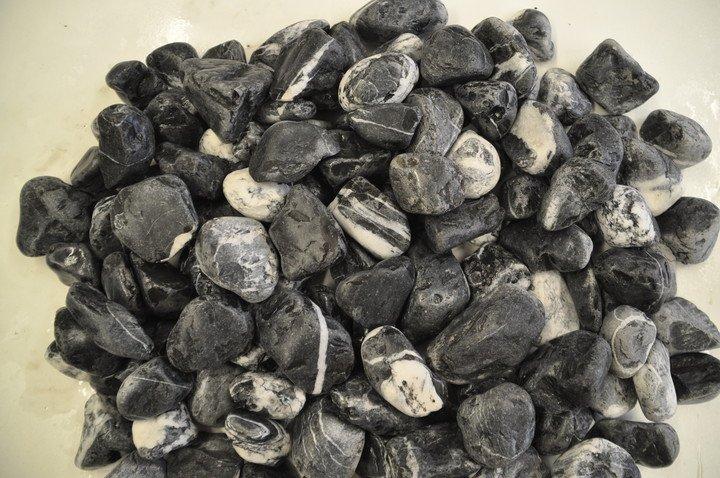 Looduslik dekoratiivkivi must-valge 40/60 20kg