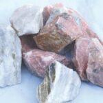 Dekoratiivkivi purustatud marmor roosa 60/120 1000kg bigbag