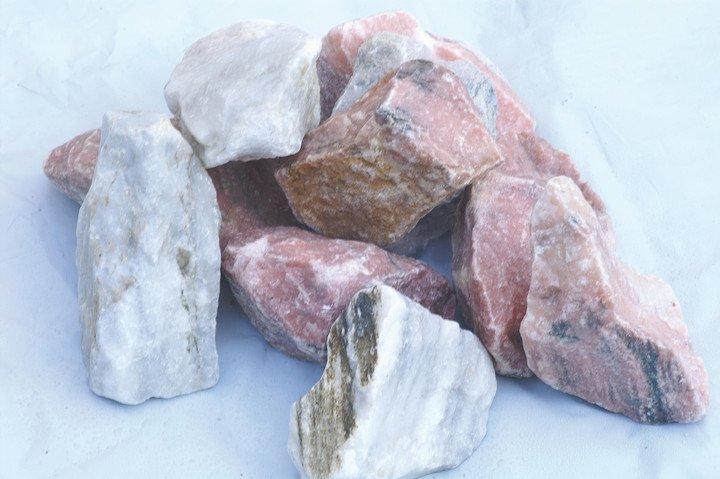 Dekoratiivkivi purustatud marmor roosa 60/120 20kg