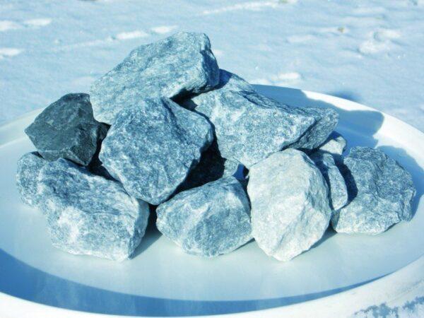 Dekoratiivkivi purustatud marmor sinakashall 90/150 8kg