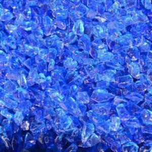 Purustatud klaas Sinine 4/8 8kg