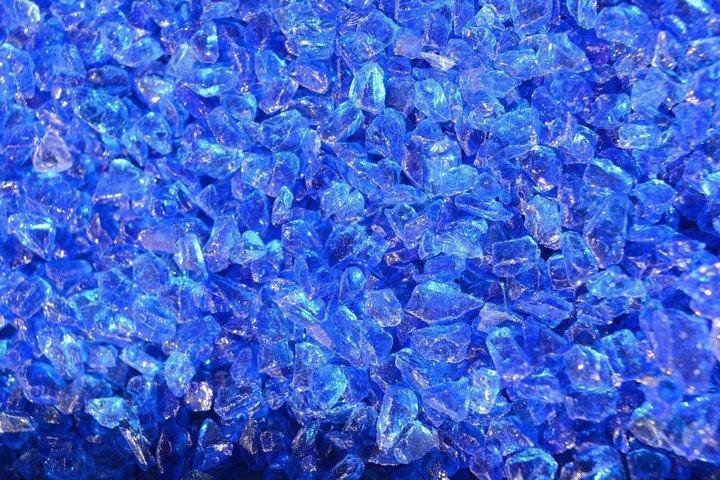 Purustatud klaas Sinine 4/8 20kg
