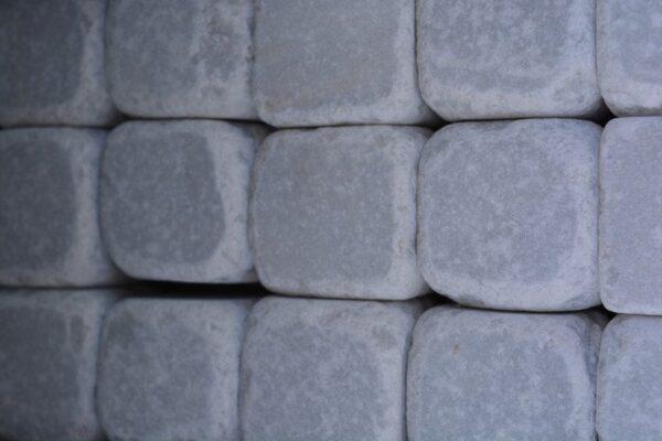 Marmorkuubikud Valge 45x45 8kg