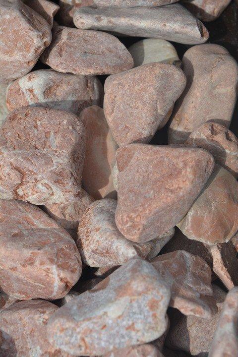Looduslik dekoratiivkivi Punane 30/60 20kg