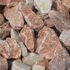 Dekoratiivkillustik mix punakas-valge 22/32 1000kg bigbag