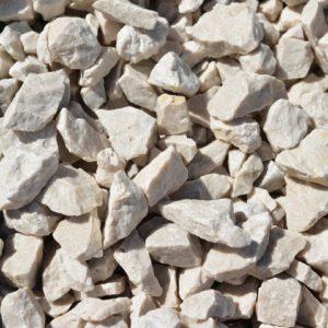 Dekoratiivkillustik Carolina-valge 12/16 1000kg bigbag