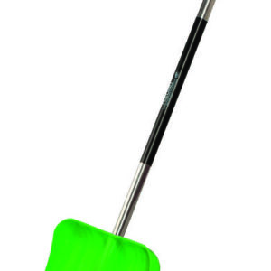 Plastikust lumelabidas roheline