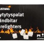 Mustang süütekuubikud 32tk valged