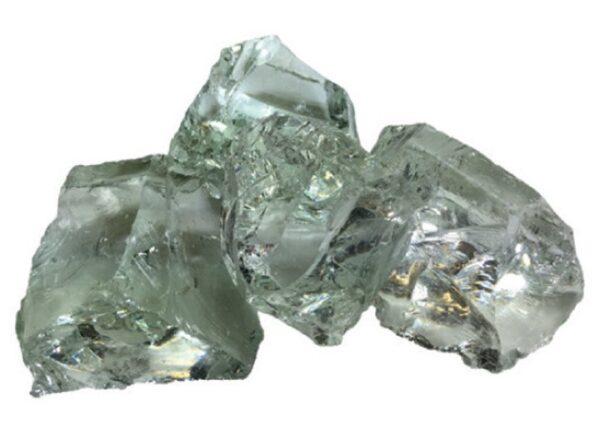 Purustatud klaas kristall 80/120 8kg