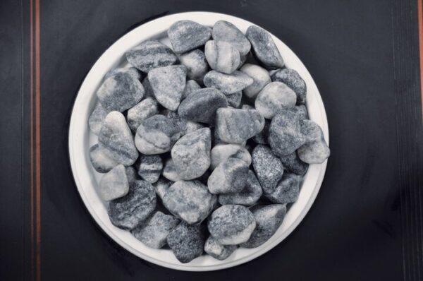 Looduslik dekoratiivkivi hallikassinine 25/40 8kg
