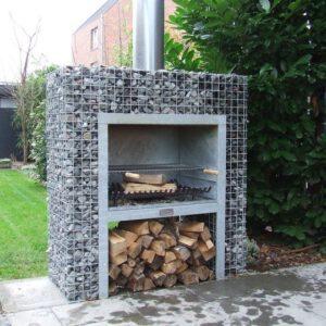 Kamin-grill dekoratiivkividele 1