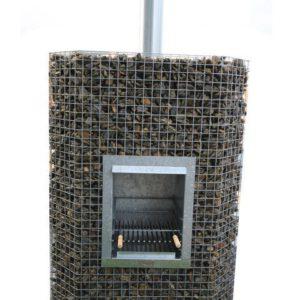 Kamin-grill dekoratiivkividele 0