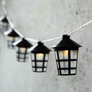 Peo valguskett latern 10LED patareidega