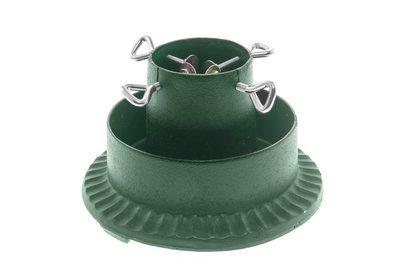 Kuusejalg malmist ümar roheline 25cm sisem.:10cm