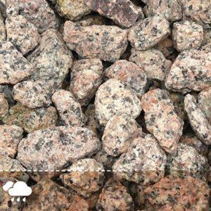 Dekoratiivkillustik Roosa graniit 16/32 1000kg bigbag