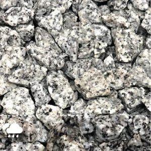 Dekoratiivkillustik Valge-must graniit 16/22 1000kg bigbag