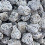Looduslik dekoratiivkivi Valge-must graniit 30/60 8kg